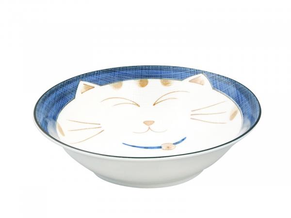 KAWAII CAT BLUE BOWL | Ø16,5CM | 450ML