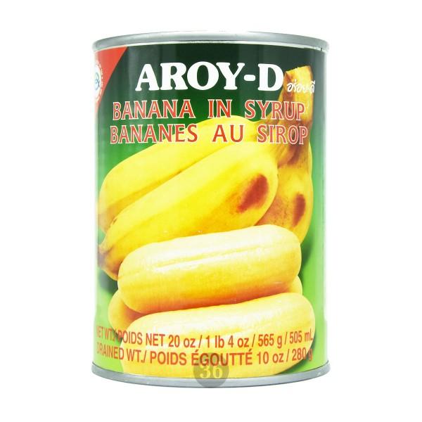 Aroy-D - Banane in Sirup, 565g