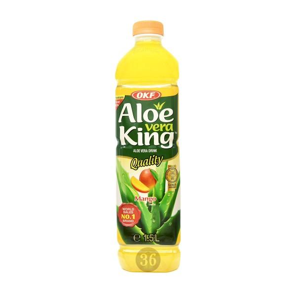 OKF - Aloe-Vera-Getränk mit Mangogeschmack, 1,5l
