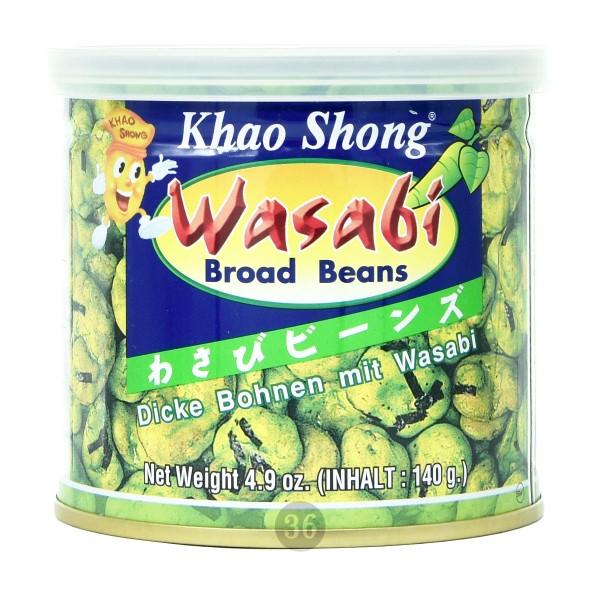 Khao Shong - Dicke Bohnen in Wasabi-Teigmantel, 140g