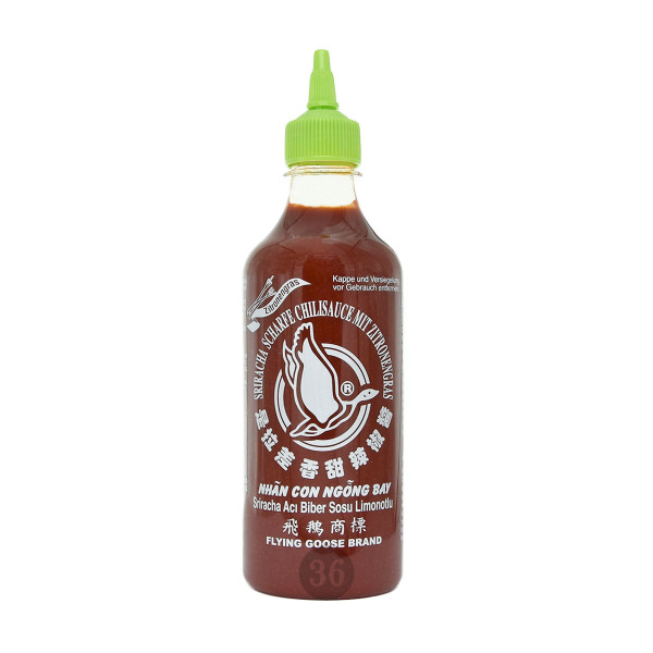 Flying Goose - Sriracha mit Zitronengras, 435ml