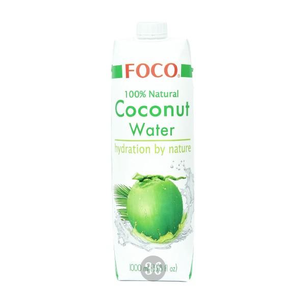 Foco - Kokoswasser, 1000ml