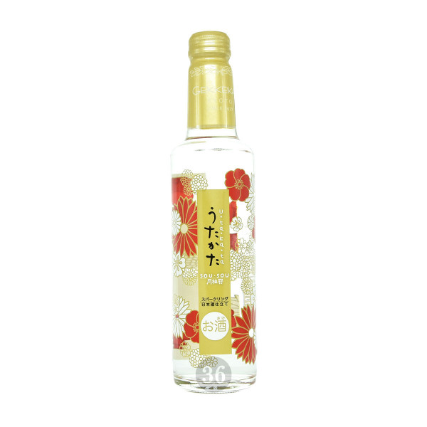 Gekkeikman - Sparkling Sake, 285ml