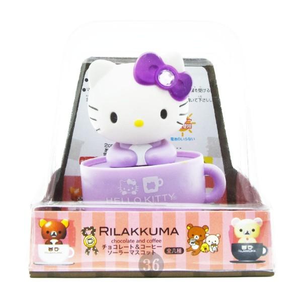 """Hello Kitty Wackelkopf """"lila"""", 9cm"""