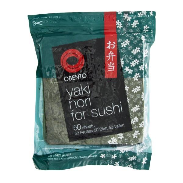 Obento - Yaki Nori-Blätter für Sushi, 50Stk