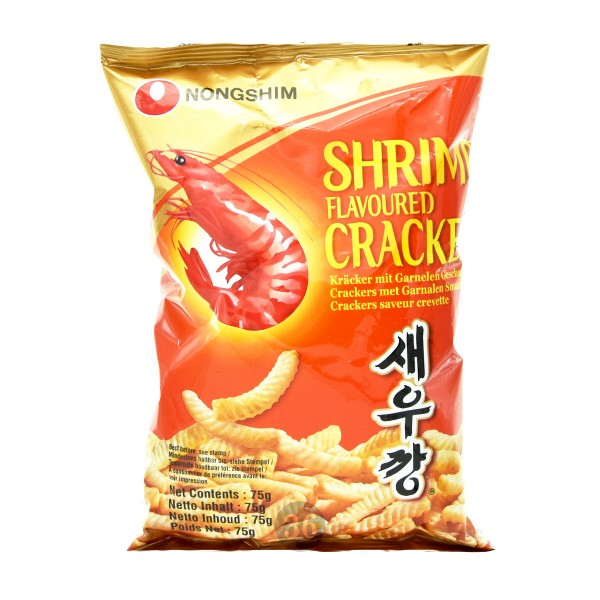 Nongshim - Cracker mit Garnelengeschmack, 75g