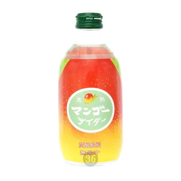 Tomomasu - Soda-Getränk mit Mangogeschmack, 300ml