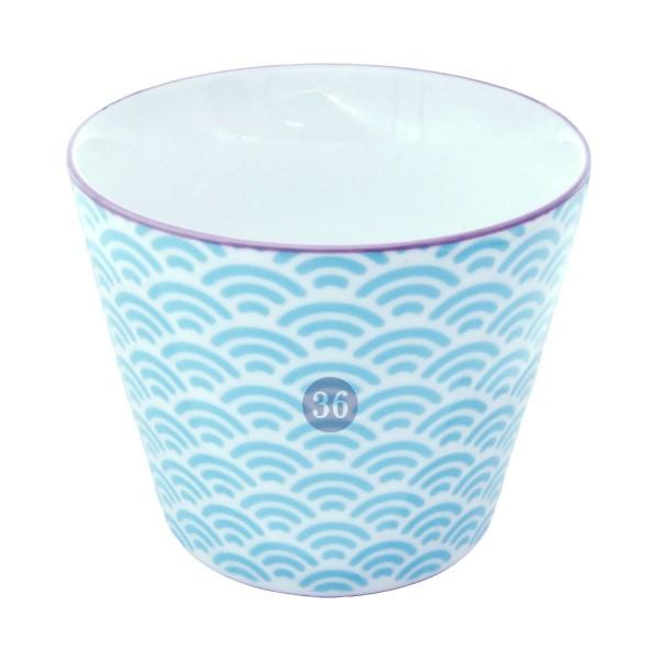 "Tokyo Design - ""Wave Blue"" Becher, 180ml"