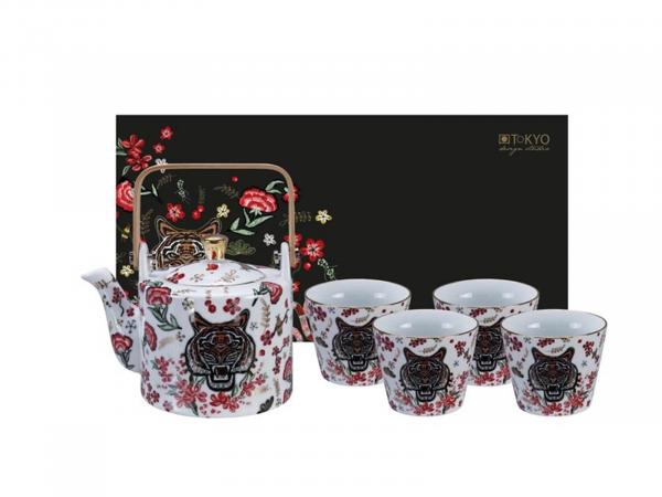 MAGICAL TIGER TEA SET   TOKYO DESIGN   0,8L   5 PCS