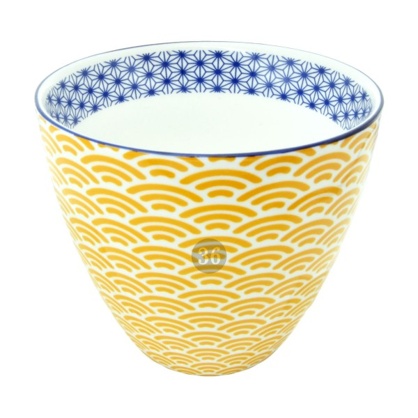"Tokyo Design - ""Star/Wave Yellow"" Becher, 180ml"