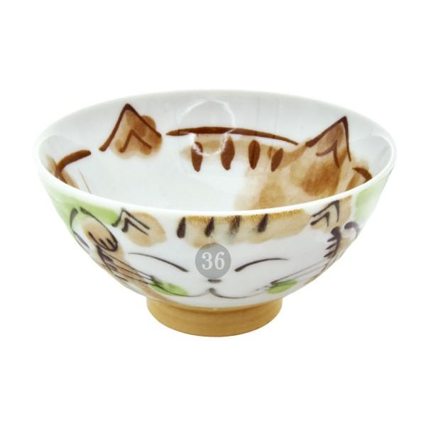 "Tokyo Design - ""Fuku Cat Green"" Bowl, 11,5x6,2cm"