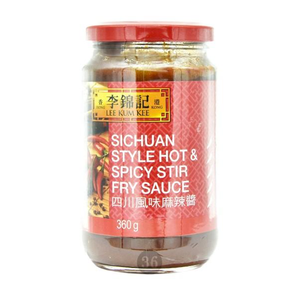 LeeKumKee - scharfe Soße Sichuan-Style, 360g