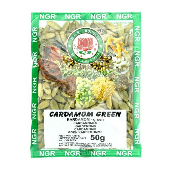 NGR - grüner Kardamom, 50g