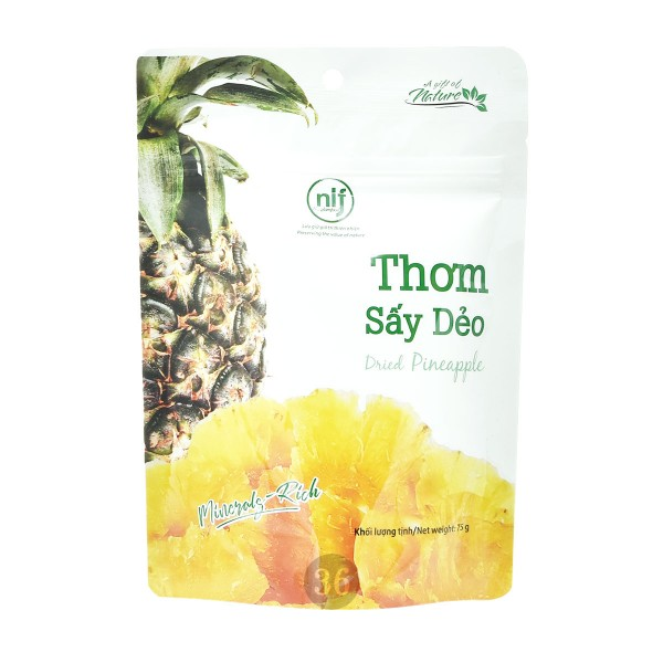 NongLam - getrockneter Ananas-Snack, 75g
