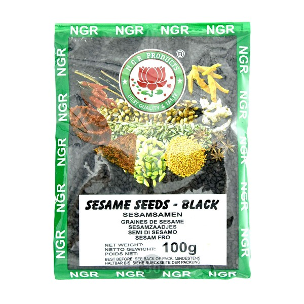 NGR - schwarze Sesamsamen, 100g
