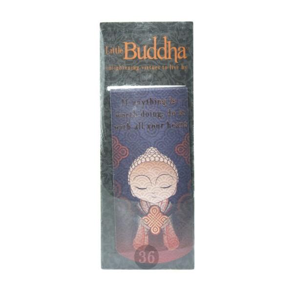 """""""Little Buddha"""" magnetisches Lesezeichen, lila"""