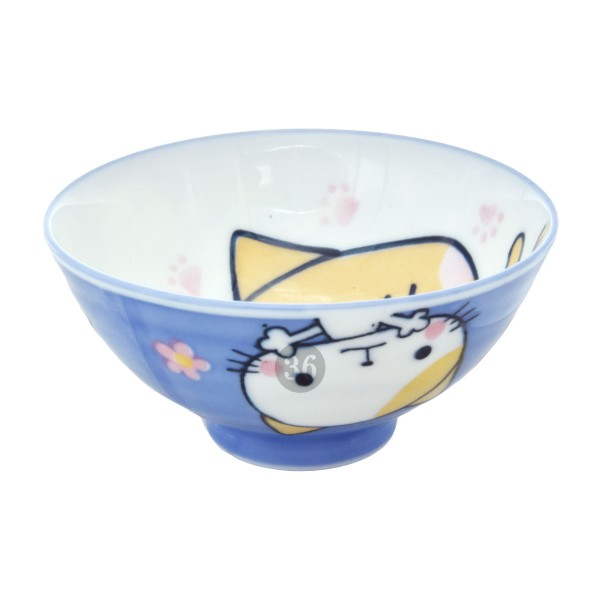 "Tokyo Design - ""Kawaii Blue Cat"" Bowl, 10,5x5cm"