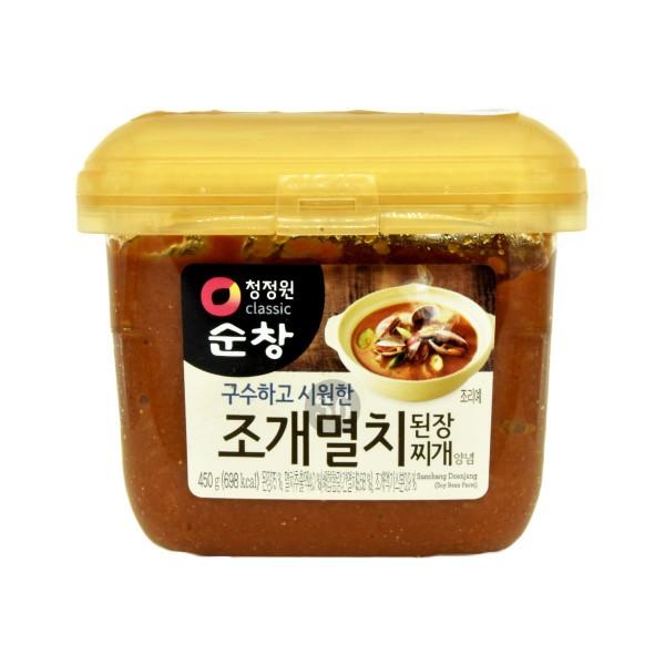 Daesang - Sojabohnepaste für Suppe (Sardellen-Geschmack), 450g