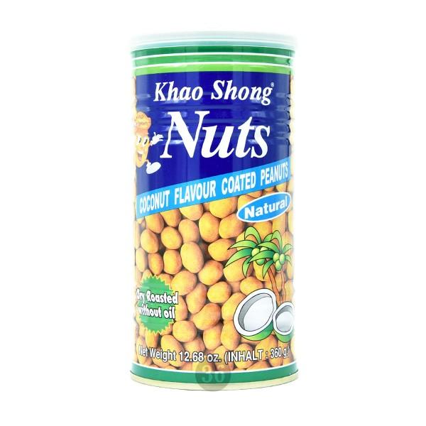 Khao Shong - Erdnüsse mit Kokosmilchmantel, 360g