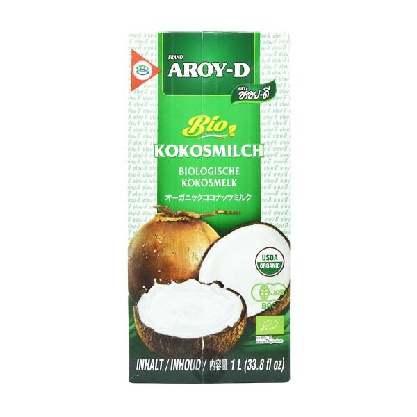 Aroy-D - Bio Kokosmilch, 1l