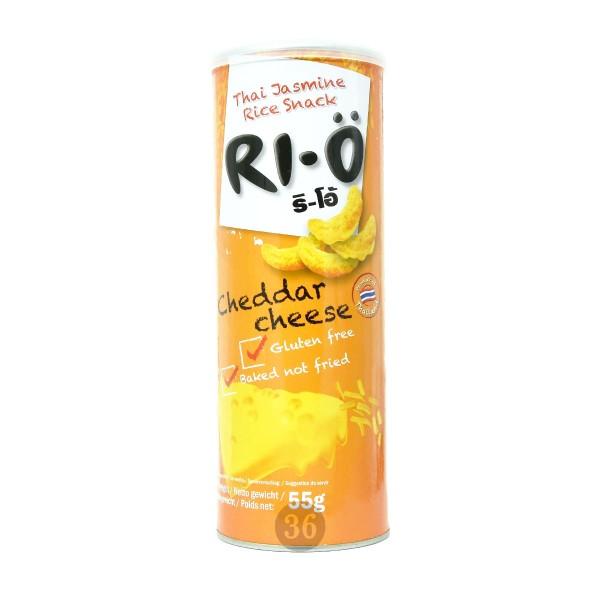Ri-Ö - Reis-Snack mit Cheddar-Käse, 55g