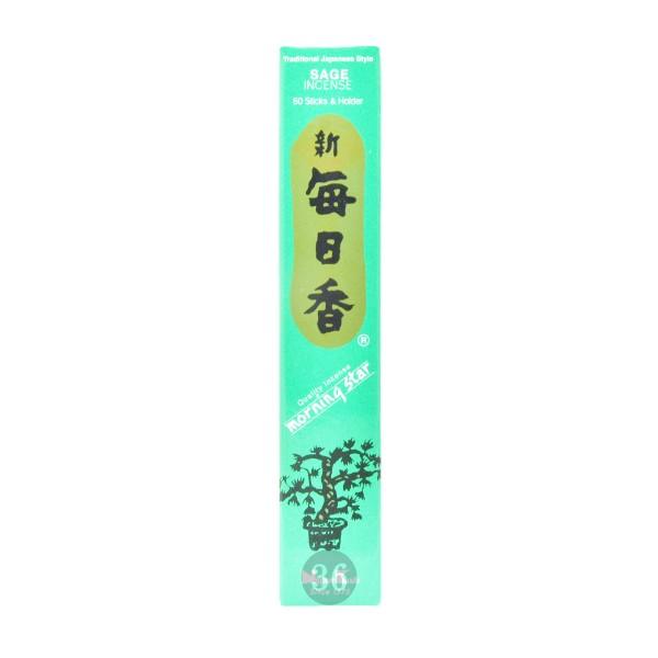 """Nippon Kodo - Räucherstäbchen """"Salbei"""" inkl. Halterung, 50Stück"""