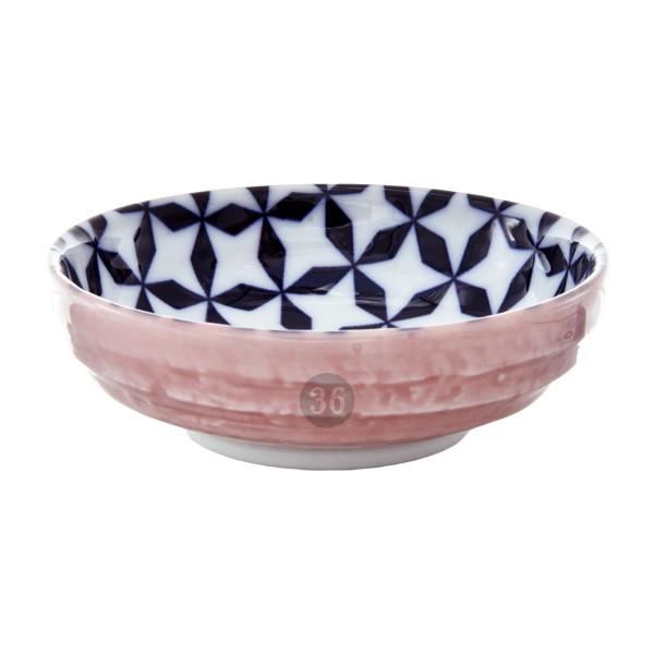 "Tokyo Design - ""Geometric Pink"" Bowl, 9,5x3cm"