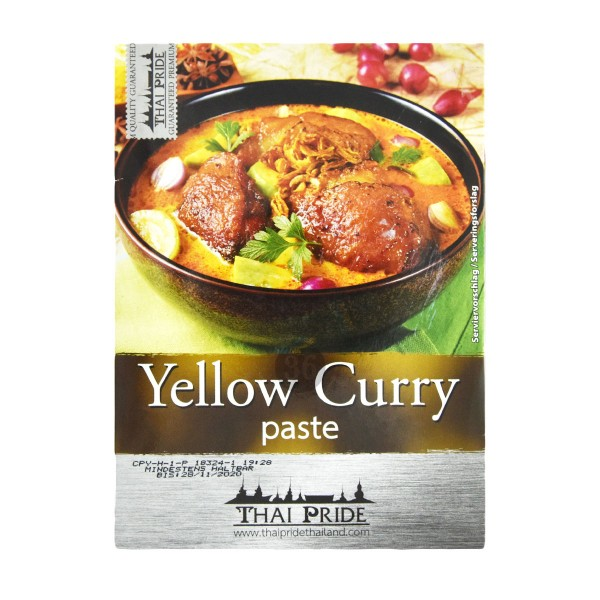 Thai Pride - Gelbe Curry-Paste, 50g