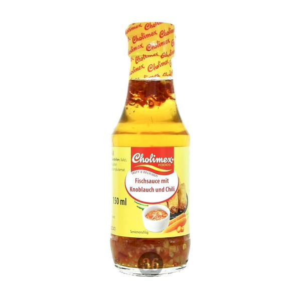 Cholimex - Fischsoße mit Knoblauch & Chili, 150ml
