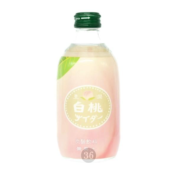 Tomomasu - Soda-Getränk mit Pfirsichgeschmack, 300ml
