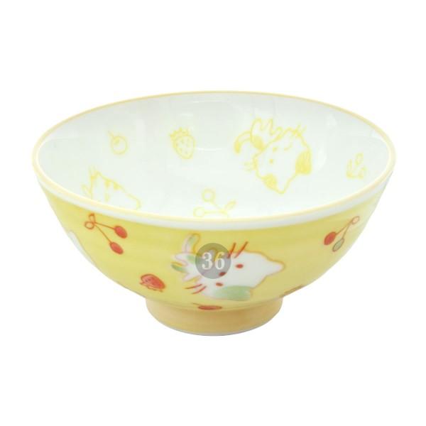 """Tokyo Design - """"Kawaii Yellow Cat"""" Bowl, 10,5x5cm"""