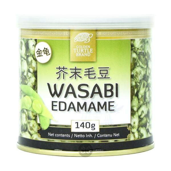Golden Turtle - Edamame mit Wasabi-Teigmantel, 140g