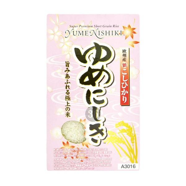 Yume Nishiki - Premium Kleinkorn-Reis, 1kg