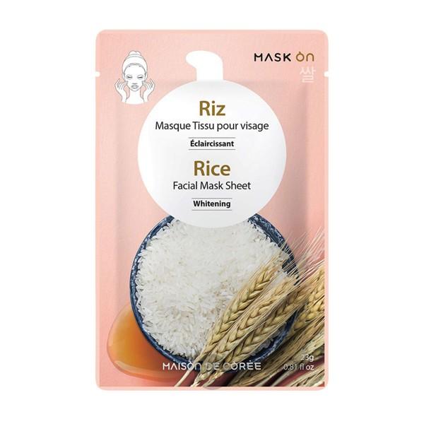 House of Korea - Reis-Gesichtsmaske, 1Stück