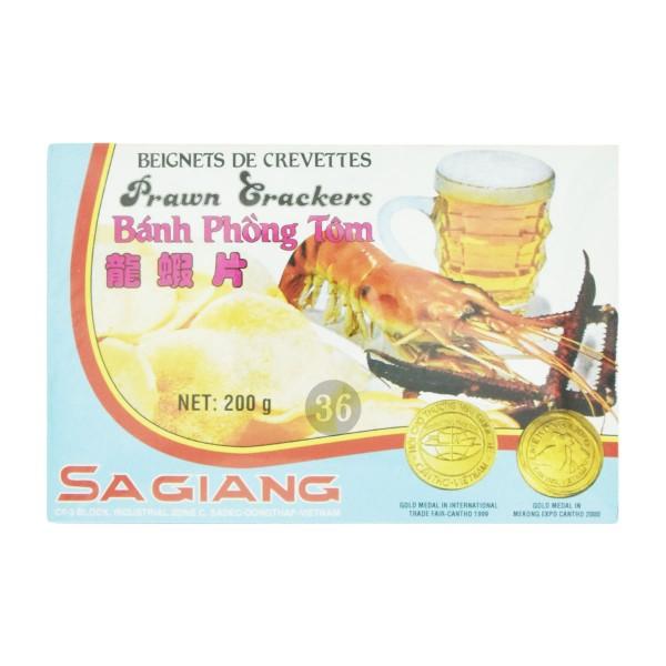 Sa Giang - Ungebackene Krabbenchips, 200g