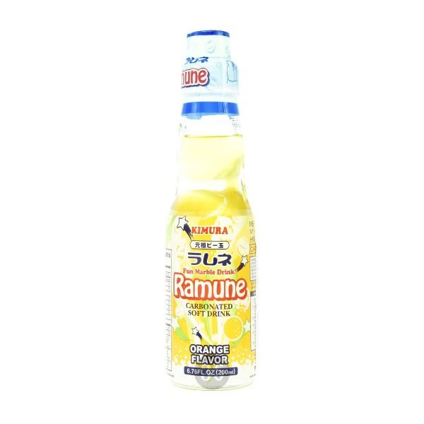 Ramune - Softdrink mit Orangengeschmack, 200ml