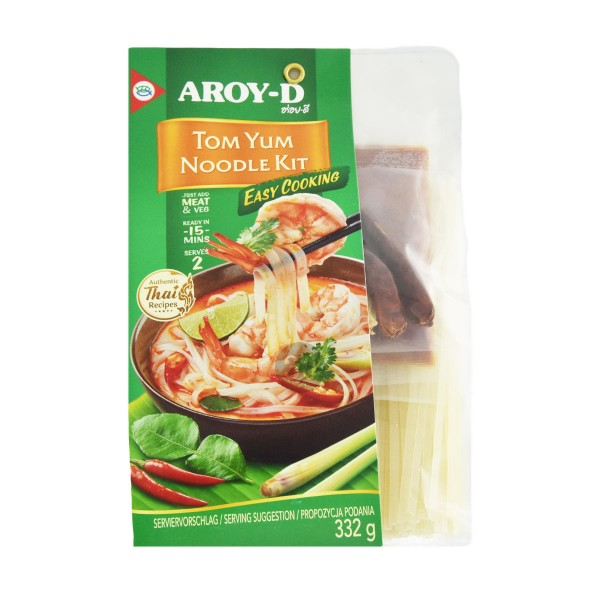 Aroy-D - Tom Yum Noodle Kit, 332g