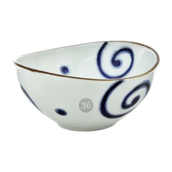 "Tokyo Design - ""Blue Lines"" Bowl, 10,5x5cm"