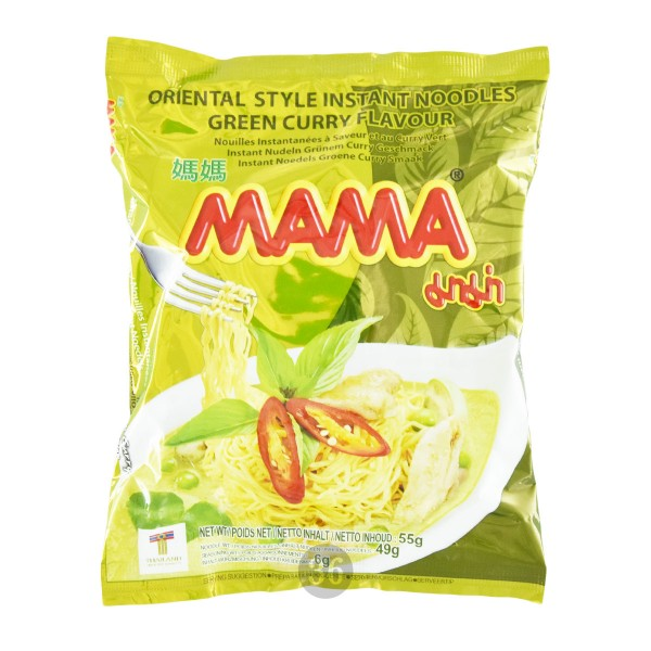 "Mama - Instantnudeln ""Green Curry"", 55g"
