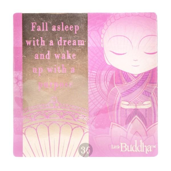 """""""Little Buddha"""" Magnet, pink"""