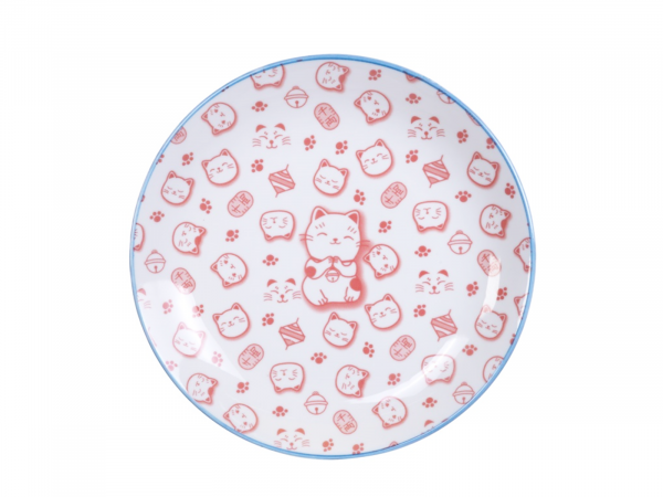 LUCKY CAT RED TELLER   TOKYO DESIGN   25,3 CM