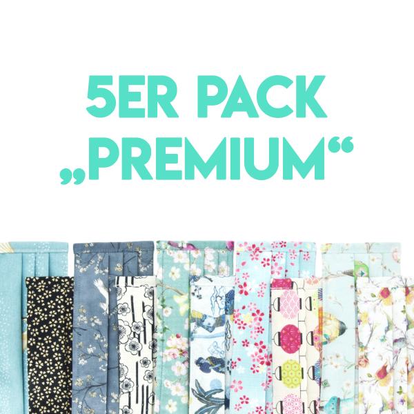 """Mund- und Nasenschutz 5er Pack """"Premium"""""""