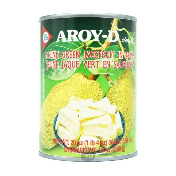 Aroy-D - Grüne Jackfrucht in Salzlake, 565g