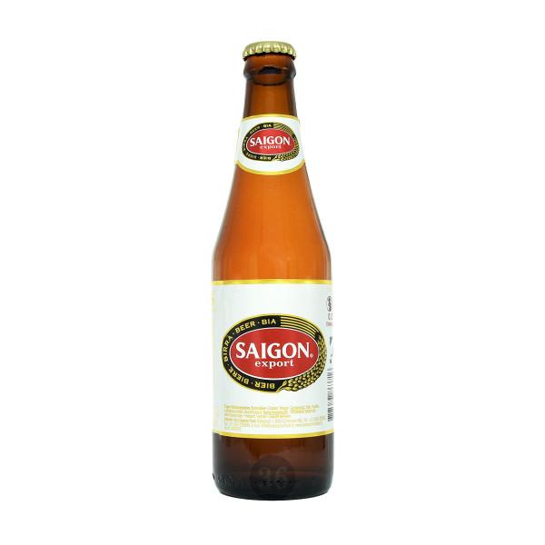 Saigon Export - vietnamesisches Bier, 500ml