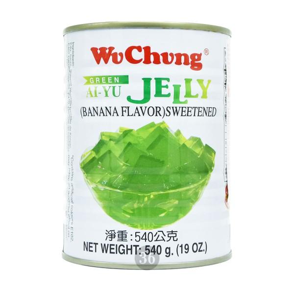 """WuChung - Gelee-Dessert """"Grass Jelly Banane"""", 540g"""