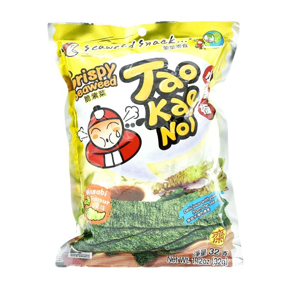 TaoKaeNoi - Crispy Seaweed - Wasabi, 32g