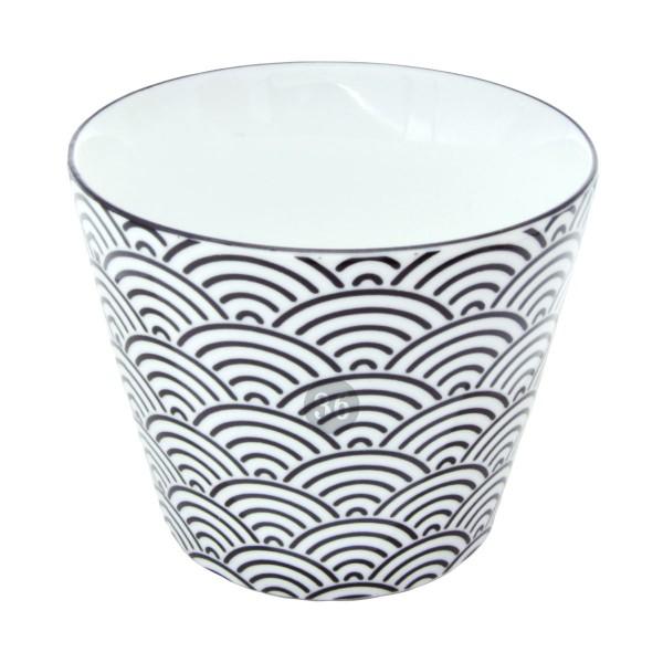 """Tokyo Design - """"Black Wave"""" Becher, 180ml"""