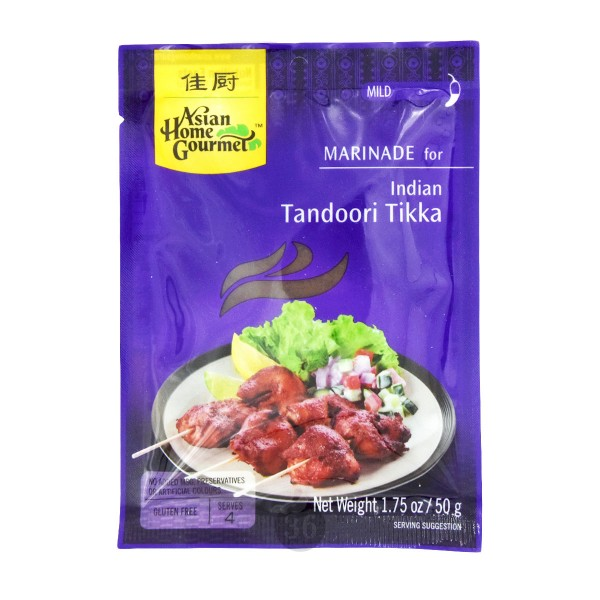Asian Home - Indisches Tandoori Tikka, 50g