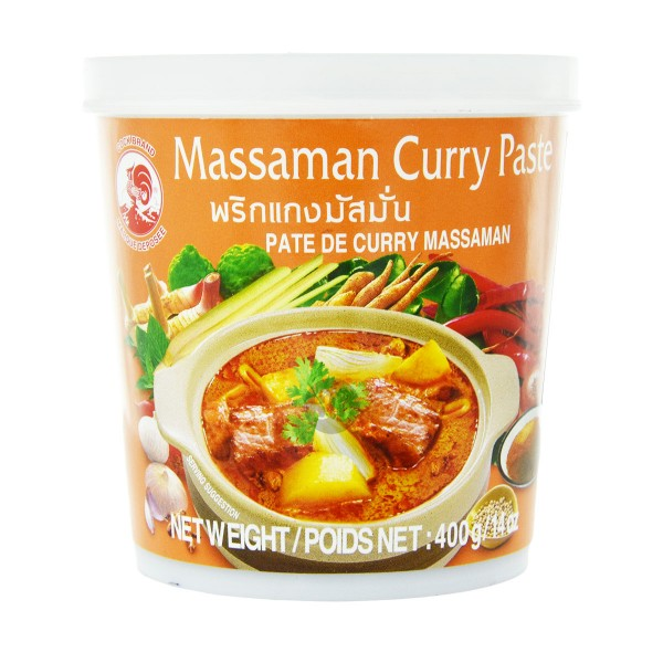 Cock Brand - Massaman Curry-Paste, 400g