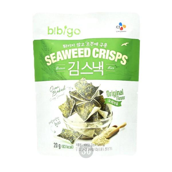 Bibigo - Seealgen-Reis-Cracker, 20g